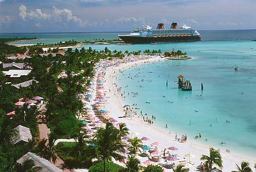 Castaway Cay Family beach photo