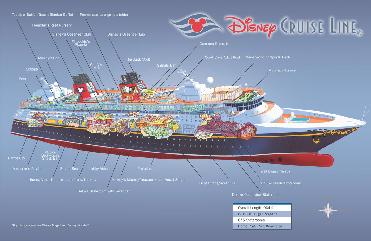 Disney Magic Cruise Ship Layout Fitbudhacom