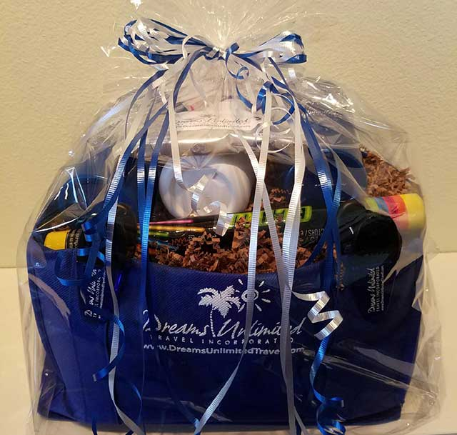 Dreams Unlimited Travel Disney Cruise Line Gift Basket
