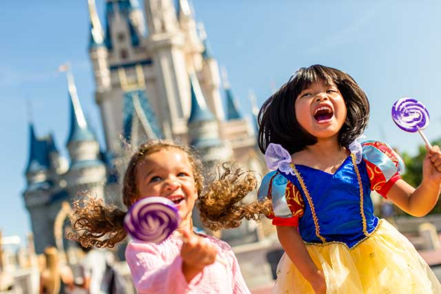 Kid-Sized Package available at Walt Disney World
