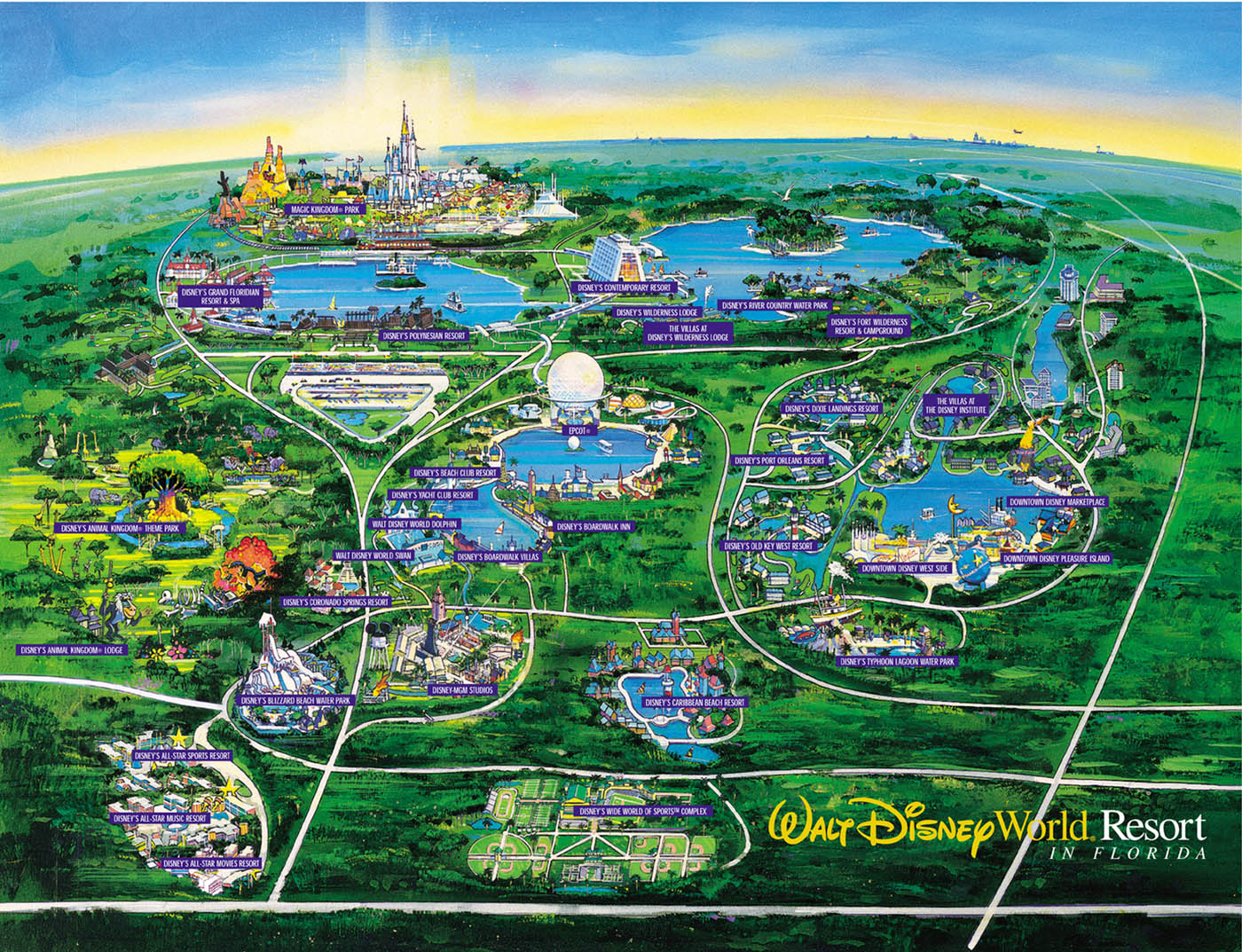 Disney maps maps of minecraft simple map walt disney world r maps gumiabroncs Images
