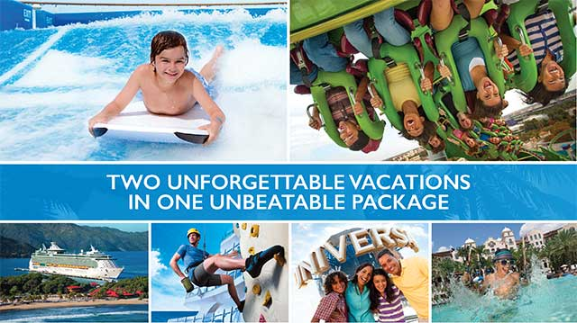 Universal Orlando Land and Sea Cruise Package